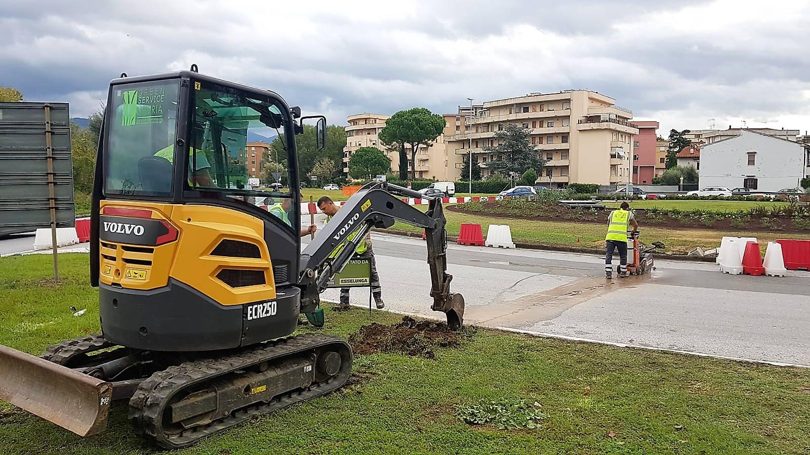 realizzazione verde pubblico 6